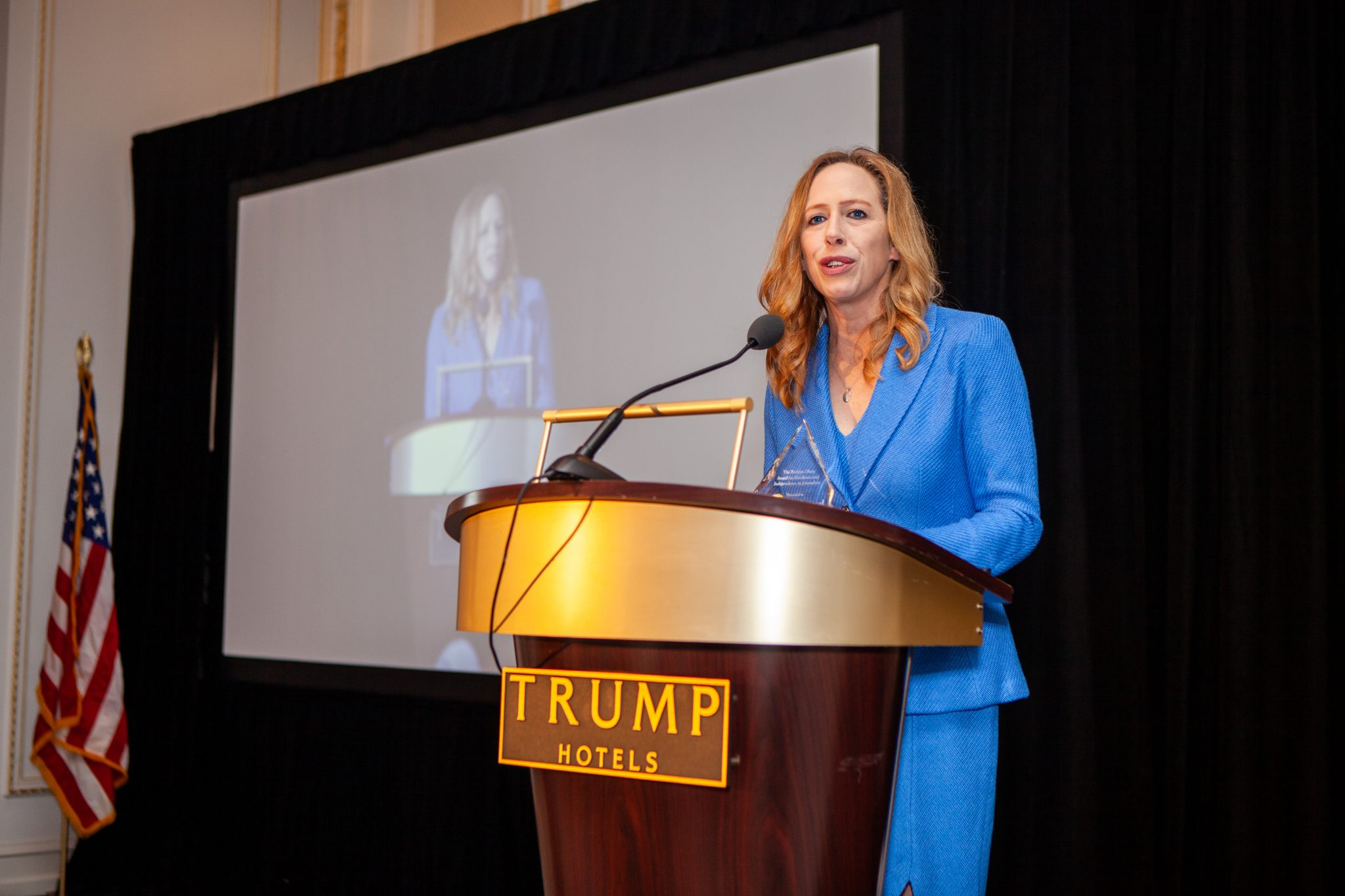Resisting the Resistance: Kimberley Strassel Receives the Barbara Olson Award at The American Spectator's Annual Gala | The American Spectator | Politics Is Too Important To Be Taken Seriously.