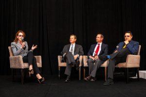 Rebekah Mercer, Peter Schweizer, Dr. Robert Epstein, and Matthew Taylor