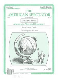 American Spectator cover Nov. 1980
