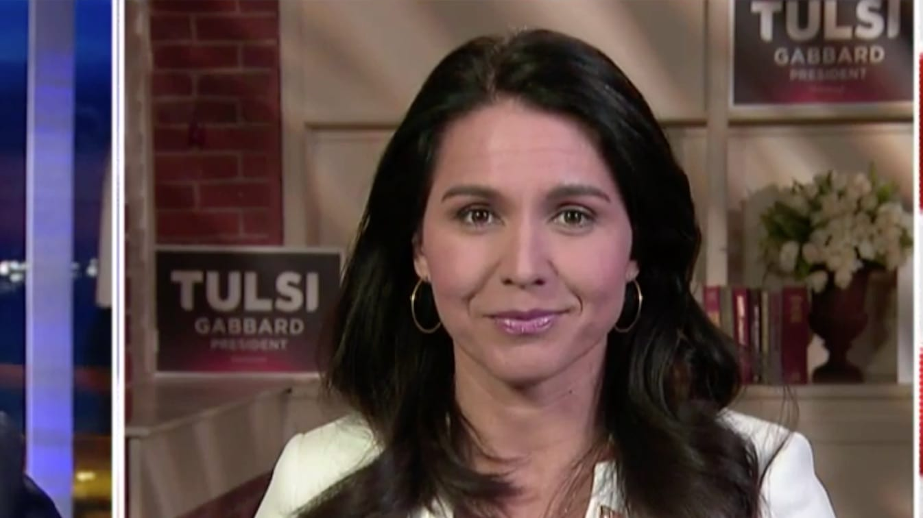 Tulsi v. Hillary | The American Spectator | Politics Is Too Important To Be Taken Seriously.