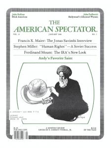 American Spectator January 1980 cover