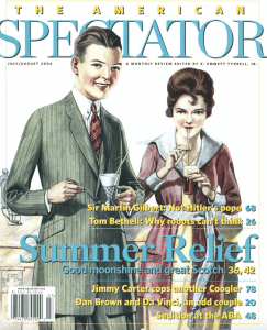American Spectator cover July/August 2006