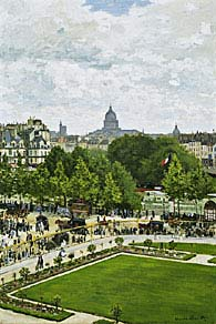 Monet Garden of the Princess, Louvre