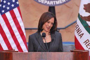 Kamala Harris sworn in as California attorney general on January 3, 2011 (Wikimedia Commons)