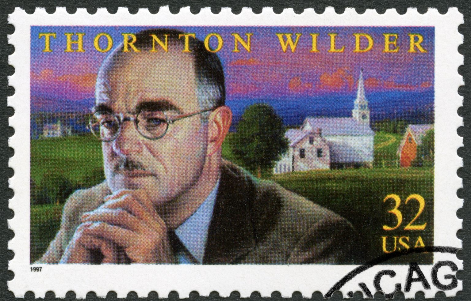 Thornton Wilder stamp