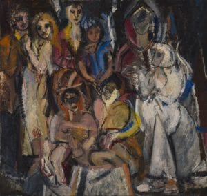 Masquerade, 1954, Grace Hartigan, (© Grace Hartigan, Courtesy, Museum of Fine Arts, Boston)