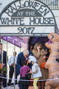 Halloween at the White House (George Goss)