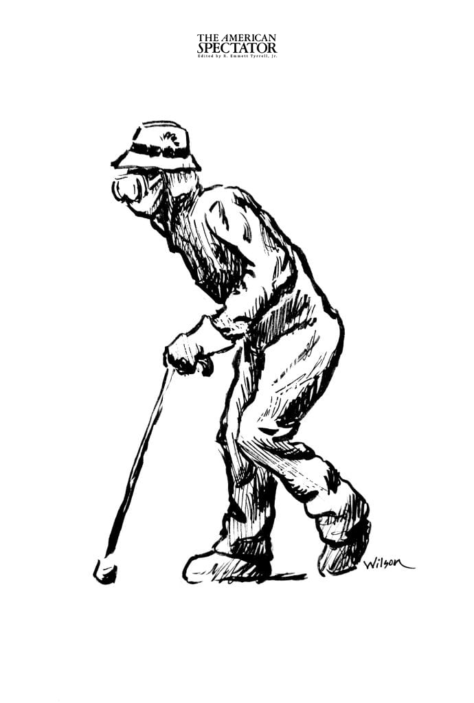 Elderly walker (Bill Wilson)