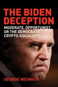 The Biden Deception by George Neumayr, book cover, excerpt on family corruption (John Caruso/Regnery Publishing) spectator.org
