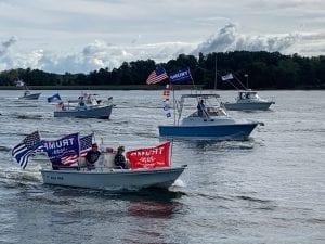 Trump boat parade (Regina Rowan) spectator.org