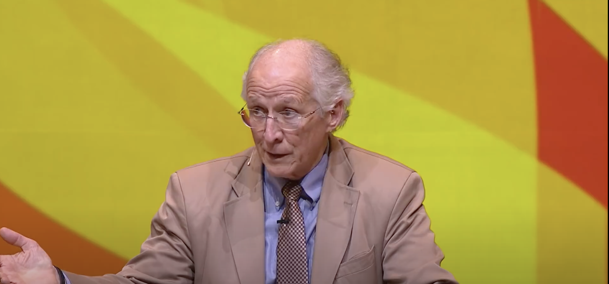 John Piper in 2018 (YouTube screenshot)