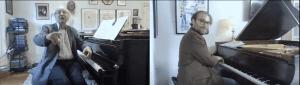 Alfred Brendel and Adam Golka (YouTube screenshot) spectator.org