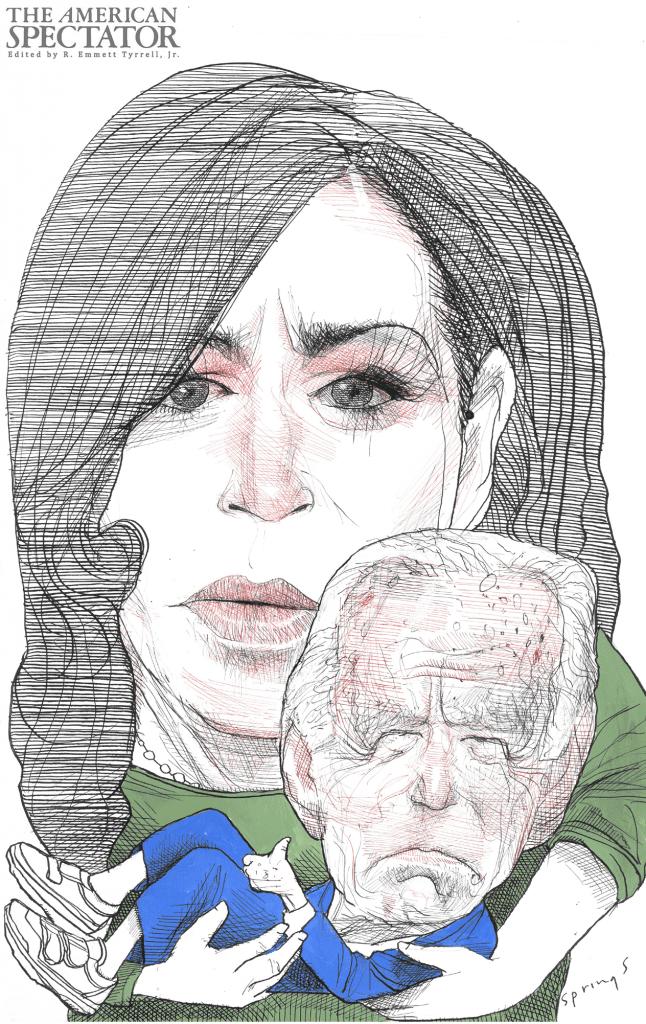 Kamala Harris and Joe Biden, 2020 (John Springs) spectator.org