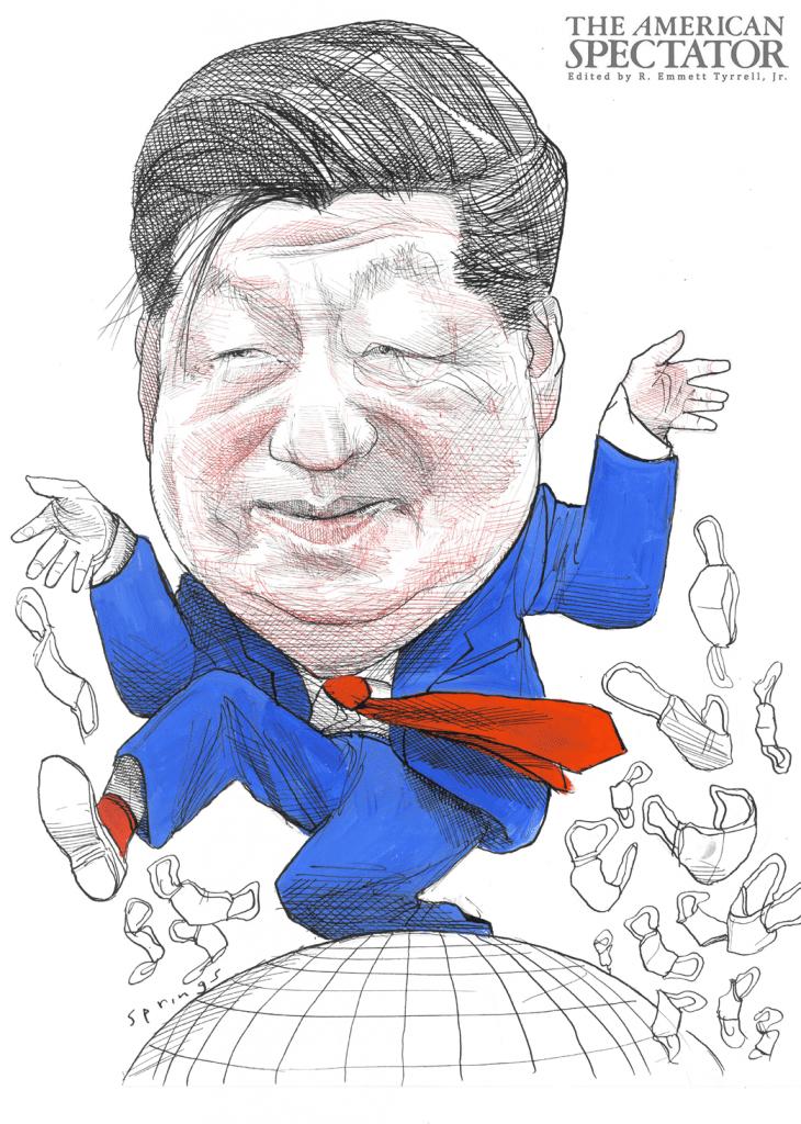 Xi Jinping, 2020, John Springs, spectator.org