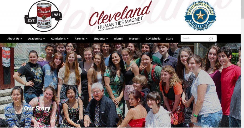 Cleveland Humanities Magnet Screenshot_spectator.org