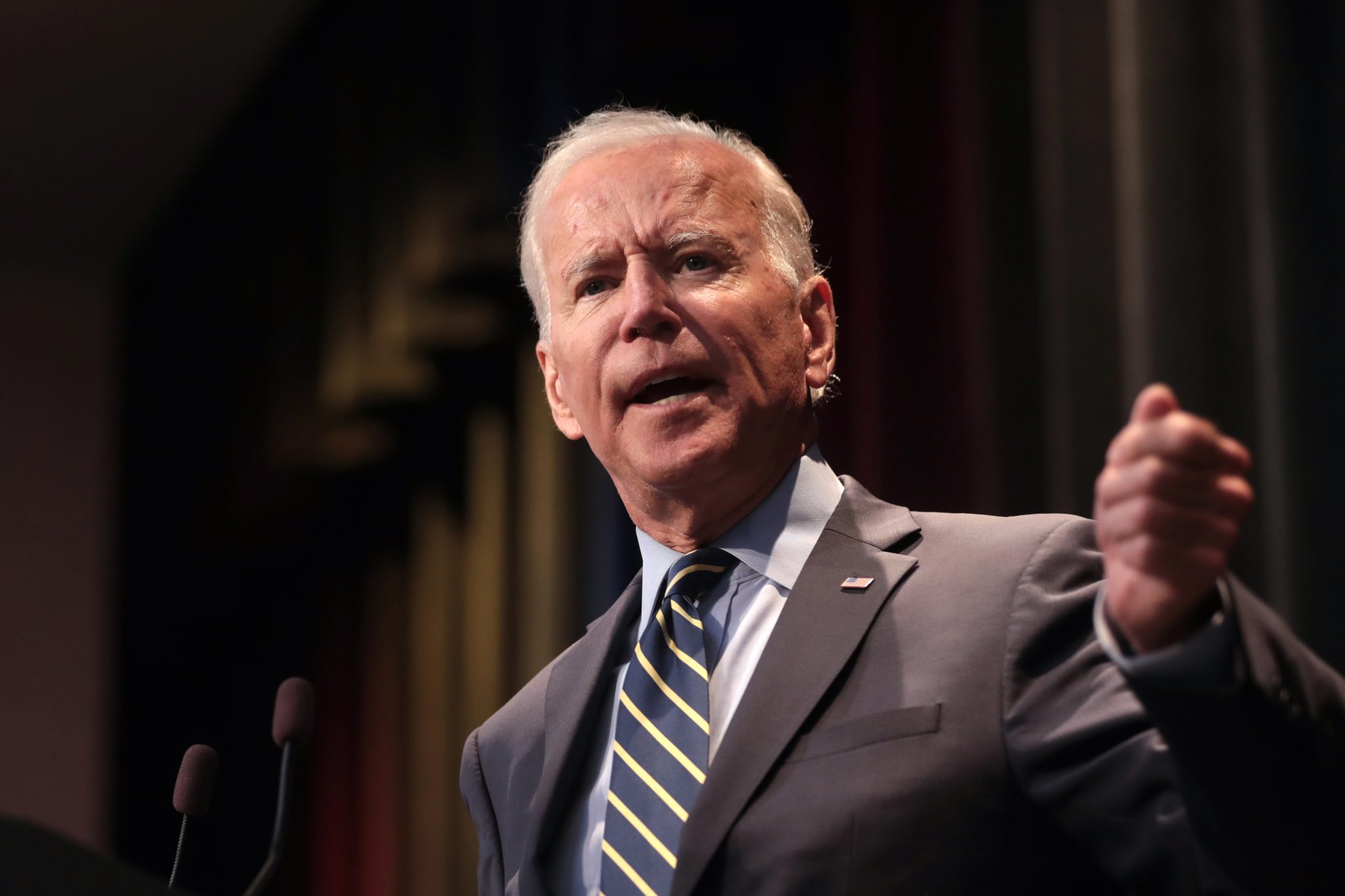 Joe Biden in Nashville, Tennessee, Oct. 22, 2020, illustrating piece on Biden's call for unity (NumenaStudios/Shutterstock.com) spectator.org