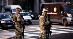 National Guard in Washington, D.C., January 6, 2021 (Johnny Silvercloud/Shutterstock.com) spectator.org