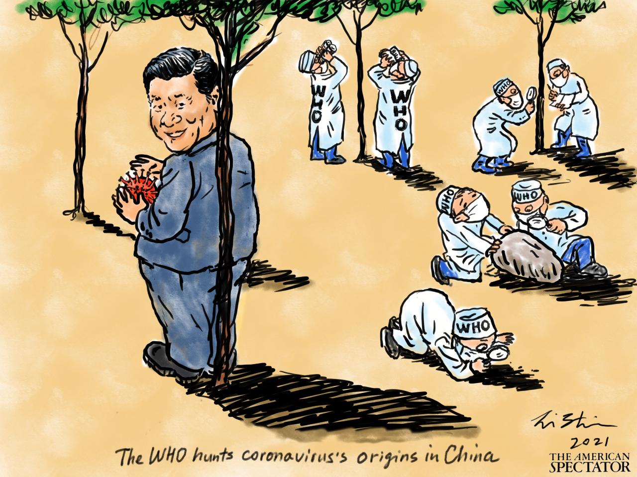 The WHO Hunts Coronavirus | The American Spectator | USA News and PoliticsThe American Spectator | USA News and Politics