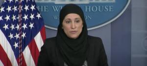 Sameera Fazili at White House press briefing, February 24, 2021 (YouTube screenshot) spectator.org