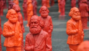 Sculptures of Karl Marx by Ottmar Hörl, Trier, Germany, May 12, 2013 (nitpicker/Shutterstock.com) spectator.org