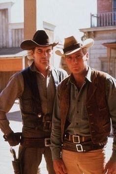 "Lee Majors and Peter Break in ""The Big Valley"" (Photo: Lee Majors)"
