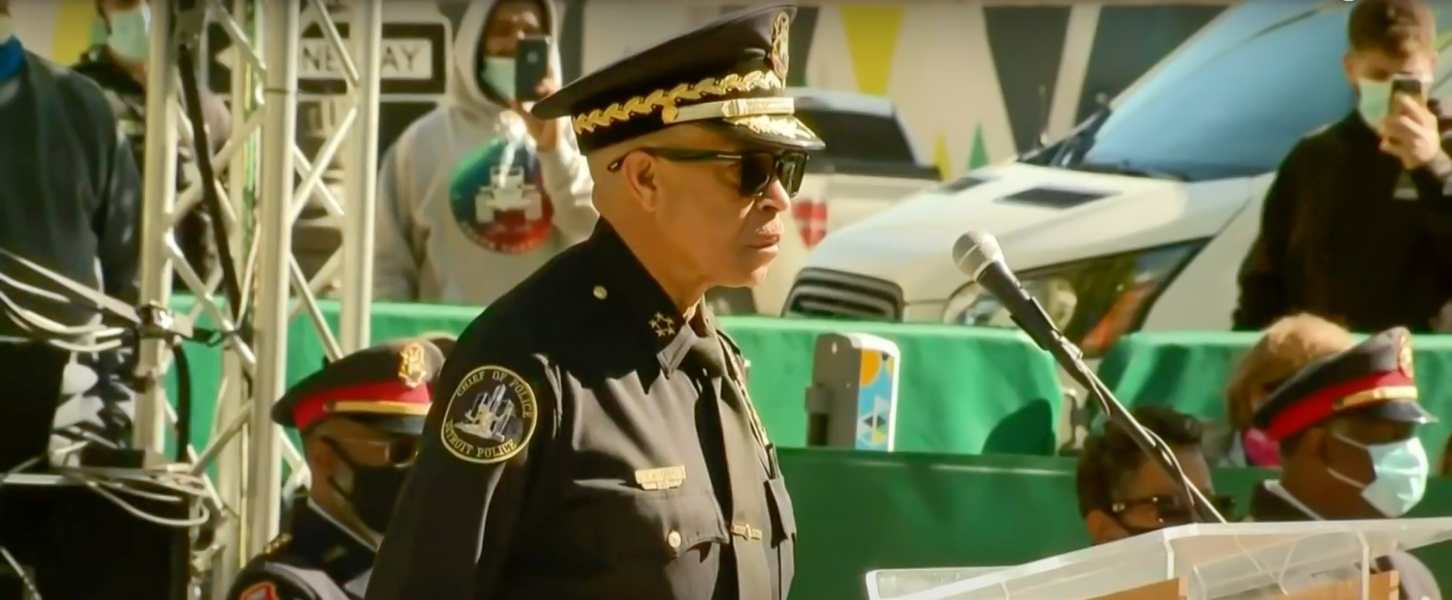 James Craig has served in police departments for over four decades. (Click On Detroit/Local 4/WDIV/Youtube)